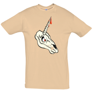 Unicorn Skull T Shirt