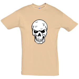 Melting Skull T Shirt