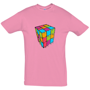 Melting Cube Puzzle T Shirt