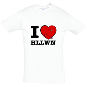 I love HLLWN T Shirt