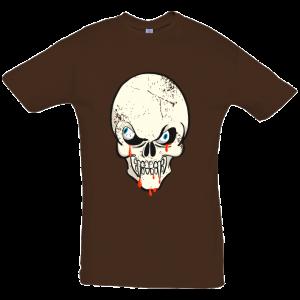 Zombie Skull T Shirt