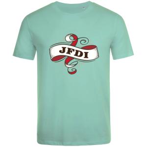 JFDI (Just Fucking Do It) Mint t-shirt